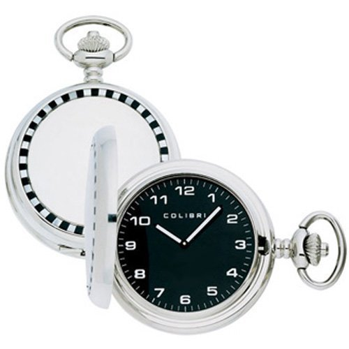 Colibri Pocket Watch Racer Onix und Perlmutt Insert Cover Model PWQ096815
