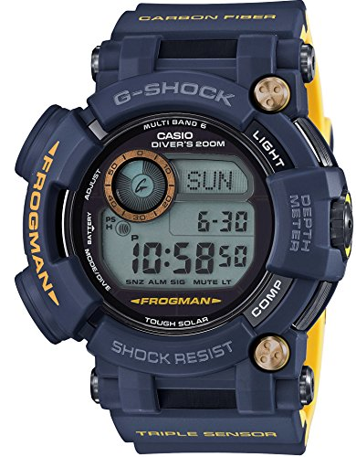 CASIO G SHOCK MASTER OF G FROGMAN NAVY BLUE GWF D1000NV 2JF MENS