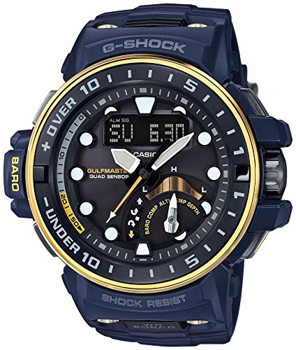 CASIO G SHOCK MASTER OF G GULFMASTER IN NAVY BLUE GWN Q1000NV 2AJF MENS