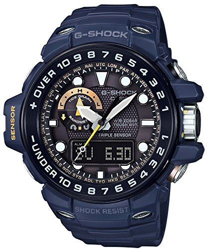 CASIO G SHOCK MASTER OF G GULFMASTER IN NAVY BLUE GWN 1000NV 2AJF MENS