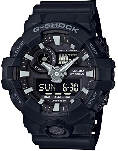 CASIO G SHOCK GA 700 1BJF MENS