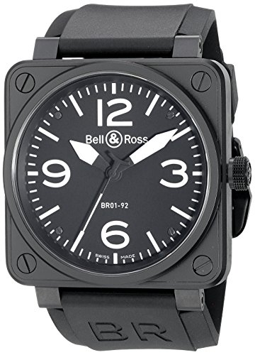 Bell Ross Aviation BR01 92 BR0192 BL CA