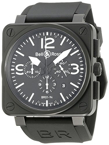 Bell Ross Aviation BR01 94 Chronograph BR0194 BL CA