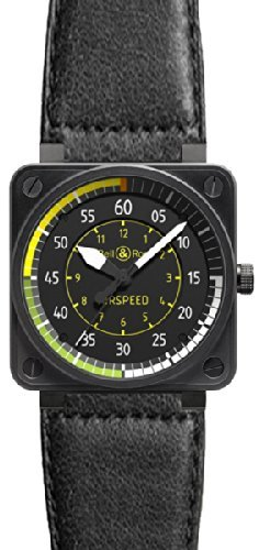 Bell Ross Aviation Flight Instrumente Herren Limited Edition Armbanduhr br 01 airspeed ls