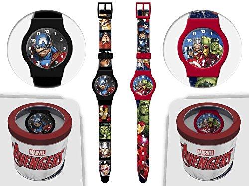 Avengers Marvels Kids Uhr mit Zeiger 41444