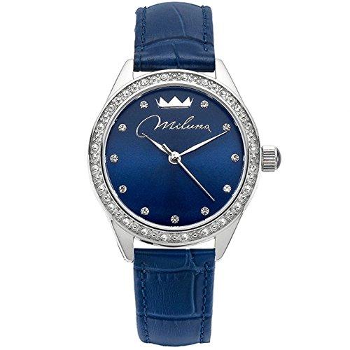 Sehen Sie sich blau Leder ORL1000 B30 Crystal Woman Momente Xiao Yan