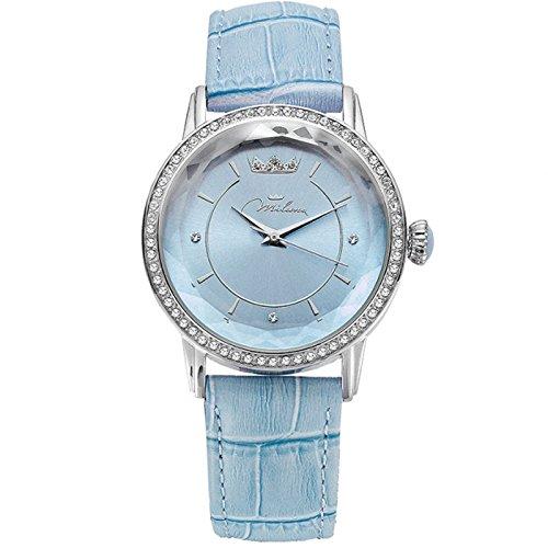 Sehen Sie sich blau Leder ORL1001 A35 Crystal Woman Momente Xiao Yan