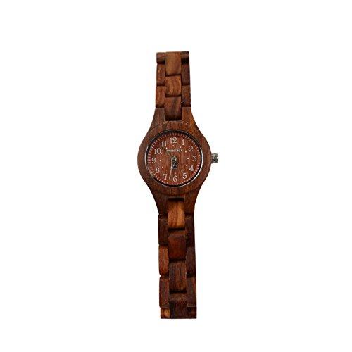 BS Women s Wooden Uhren mit Ebenholz Holz Fall Miyota Bewegung ein Bestes Geschenk
