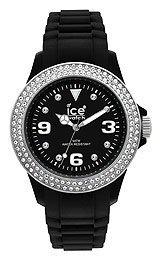 Dame Uhr ICE STAR BLACK WHITE ST BS U S 09