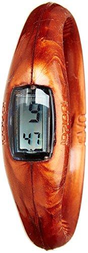 IO ION e cpr03 ii Armbanduhr Quarz Digitale Datum Uhrzeit Armband Silikon Bronze
