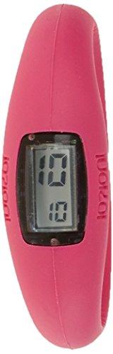 IO ION e fch09 i Armbanduhr Quarz Digitale Datum Uhrzeit Armband Silikon Rosa