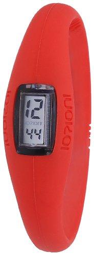 IO ION Unisex Armbanduhr Evo Rot size II Digital Silikon E RED07 II