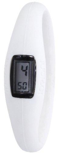 IO ION Unisex Armbanduhr Evo Weiss size III Digital Silikon E WHT04 III