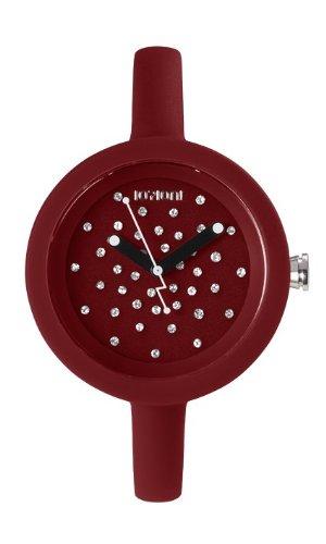 IO ION pcc cms52 Armbanduhr Quarz Analog Armband Silikon Rot