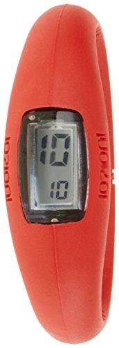 IO ION e red07 i Armbanduhr Quarz Digitale Datum Uhrzeit Armband Silikon Rot