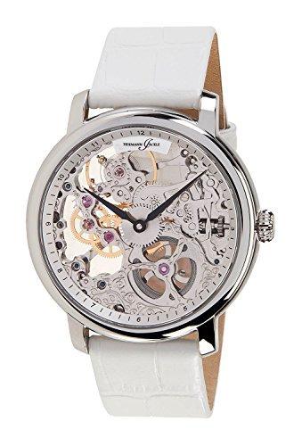 Hermann Jaeckle Pforzheim Skelett Armbanduhr mit Handaufzug Made in Germany