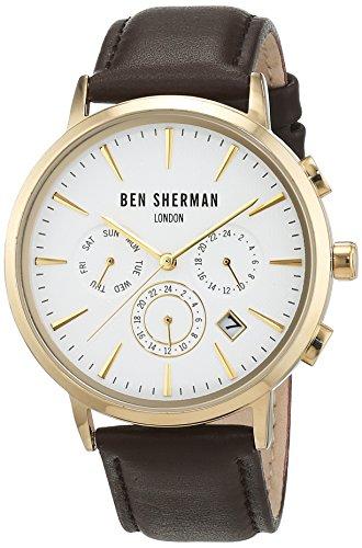 Ben Sherman Herren Armbanduhr Analog Quarz WB028BRGA