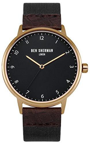 Ben Sherman Herren Armbanduhr Analog Quarz WB049BRG