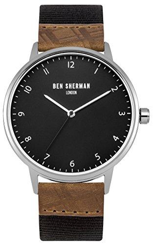 Ben Sherman Herren Armbanduhr Analog Quarz WB049TE