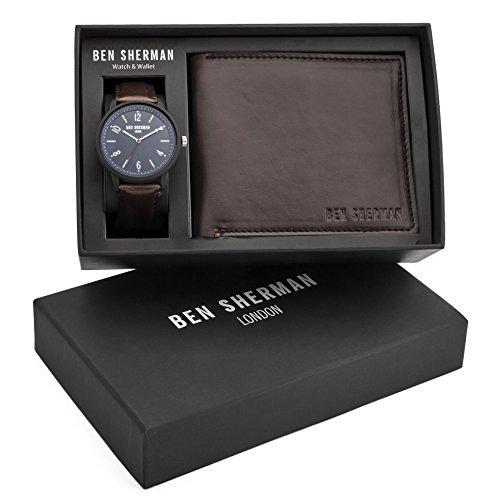 Ben Sherman Herren Armbanduhr Analog Quarz WB050UBR G