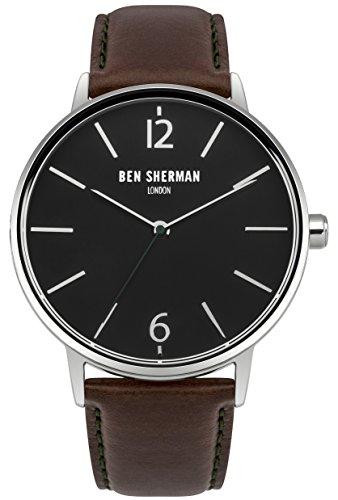 Ben Sherman Herren Armbanduhr Analog Quarz WB059BRN