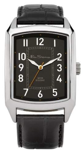 BEN SHERMAN Herren-Armbanduhr GENTS WATCH Analog Kunststoff Schwarz BS027
