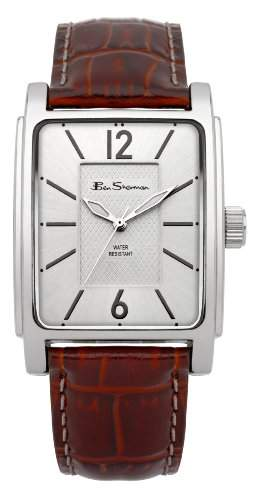 BEN SHERMAN Herren-Armbanduhr GENTS WATCH Analog Kunststoff Braun BS037