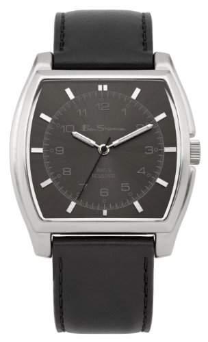 BEN SHERMAN Herren-Armbanduhr GENTS WATCH Analog Kunststoff Schwarz BS042