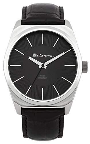 BEN SHERMAN Herren-Armbanduhr Analog Quarz Polyurethan BS096