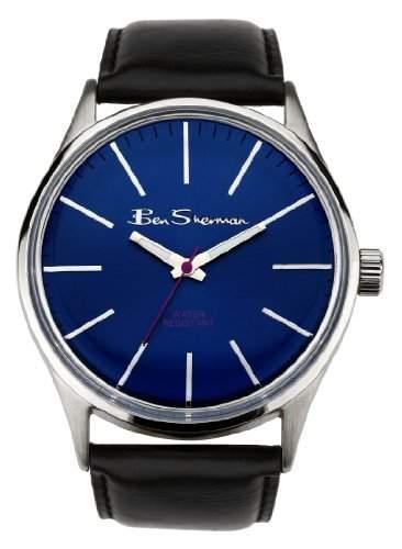 BEN SHERMAN Herren-Armbanduhr GENTS WATCH Analog Kunststoff Schwarz R920