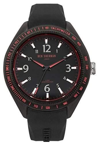 Ben Sherman Herren-Armbanduhr Islington Colour Analog Quarz Silikon WB012B