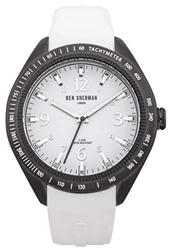 Ben Sherman Herren-Armbanduhr Islington Colour Analog Quarz Silikon WB012W