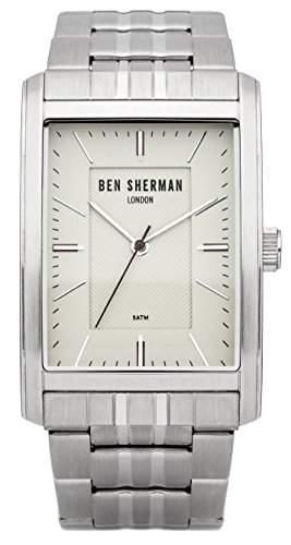 Ben Sherman Herren-Armbanduhr Clerkenwell Professional Analog Quarz Edelstahl WB013SM