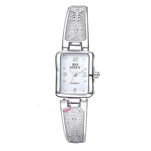 CS Priority WH0014W weisses Zifferblatt Analog Anzeige mit weissem Armband Quarz Uhrwerk