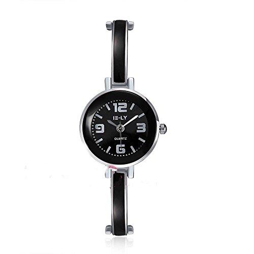 CS Priority Watch Schwarz Zifferblatt Analog Anzeige und Armband schwarz Watch Quarz whyyl0002 5