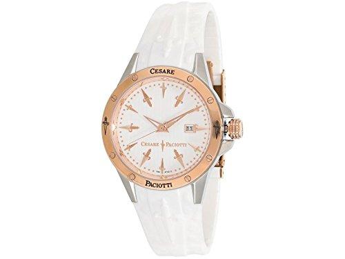 Uhr Cesare Paciotti Herren tsst060 Armband Silikon Weiss
