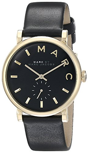 Marc Jacobs Damen Armbanduhr Analog Quarz Leder MBM1269