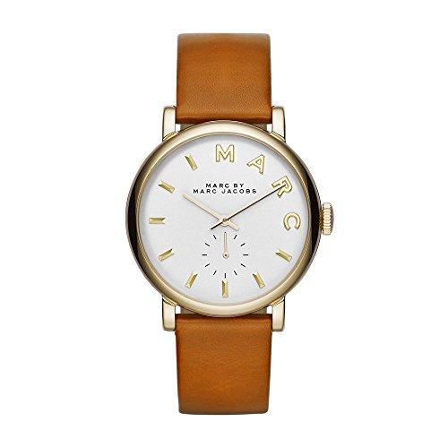 Marc Jacobs Damen Armbanduhr Analog Quarz Leder MBM1316