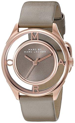 Marc Jacobs Damen Armbanduhr Analog Quarz Leder MBM1375