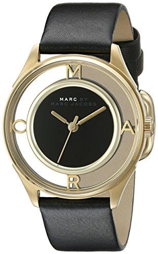 Marc Jacobs Damen Armbanduhr Analog Quarz Leder MBM1376