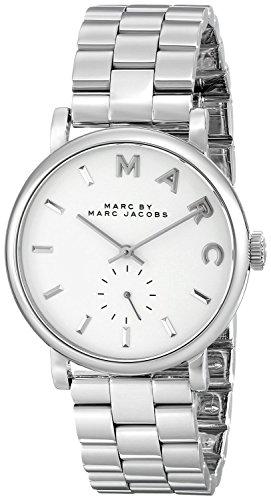 Marc Jacobs Damen Armbanduhr Analog Quarz Edelstahl MBM3242