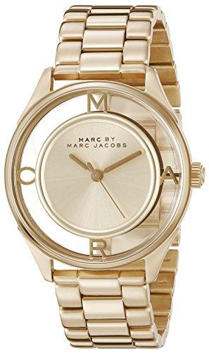 Marc Jacobs Damen Armbanduhr Analog Quarz Edelstahl MBM3413