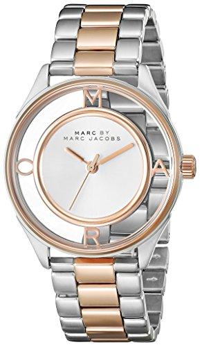 Marc Jacobs Damen Armbanduhr Analog Quarz Edelstahl MBM3436