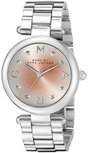 Marc Jacobs Damen Armbanduhr Analog Quarz Edelstahl MJ3447