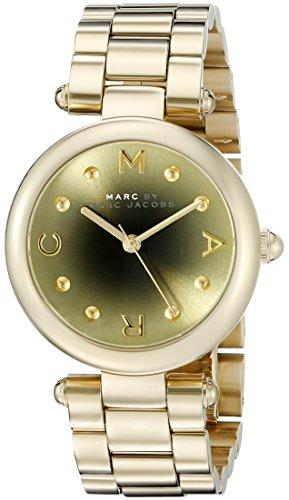 Marc Jacobs Damen Armbanduhr Analog Quarz Edelstahl MJ3448