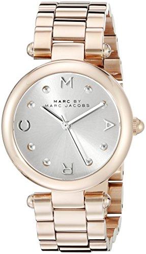 Marc Jacobs Damen Armbanduhr Analog Quarz Edelstahl MJ3449