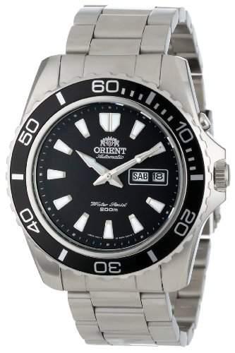 Orient Mens Black Mako Automatic Dive Watch CEM75001B
