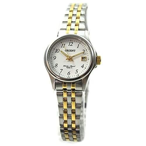Orient Damen-Armbanduhr Analog Quarz Edelstahl FSZ2F003W0