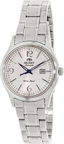 Orient Damen Charlene nr1q005 W Silber Edelstahl Automatik Uhr