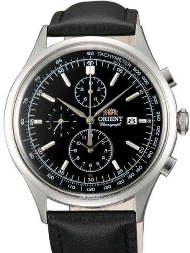 Orient Monterey Chronograph Quarz mit im totalizer und Tachymeter tt0 V003b